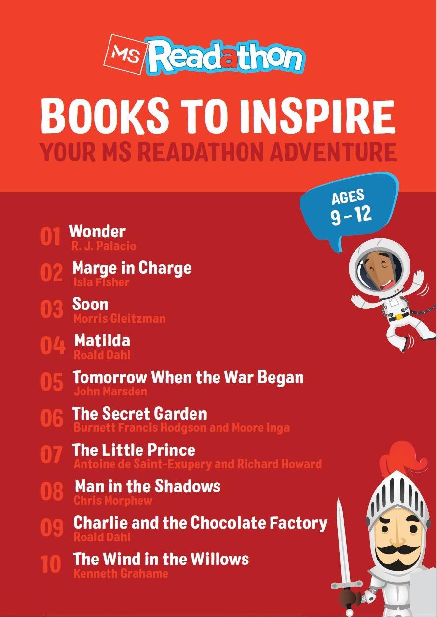 Reading List 9-12