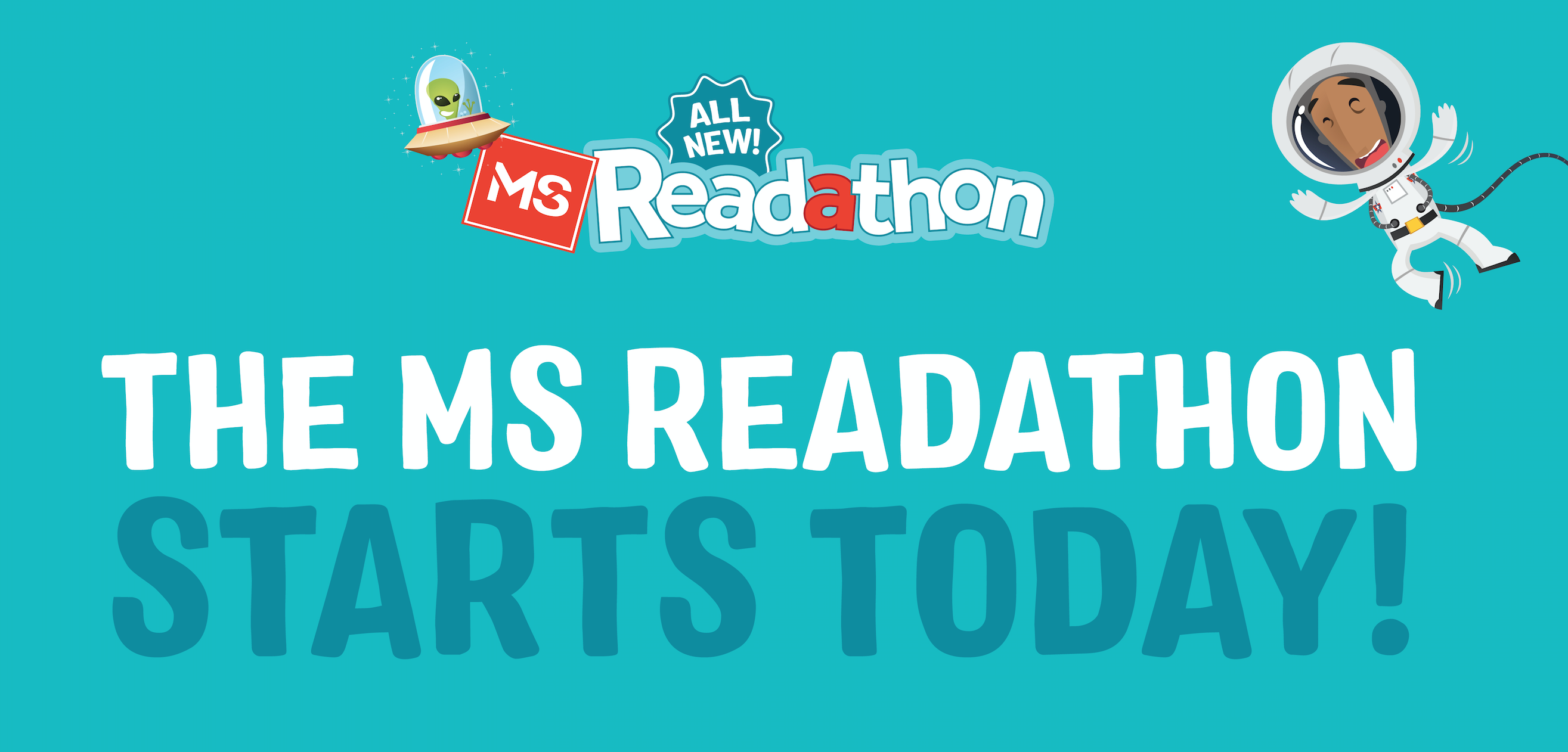 Facebook Tile - The MS Readathon starts today!