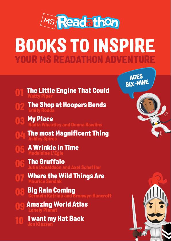 Reading List 6-9