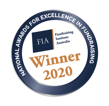 National awards for excellence in fundraising - winner 2020