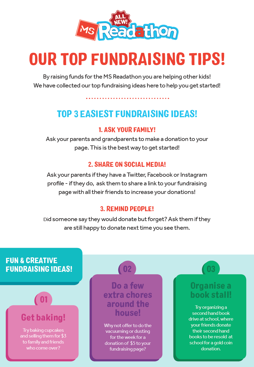 Our Top Fundraising Tips!
